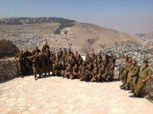 samaria israelische soldaten