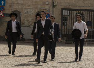 Joodse mannen in jeruzalem