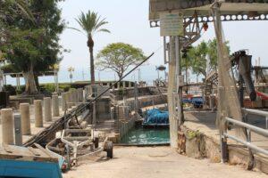 Meer van Galilea peir