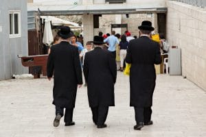 Orthodoxe joden Jeruzalem