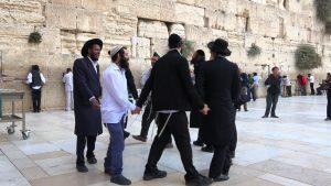 shabbat kotel jeruzalem