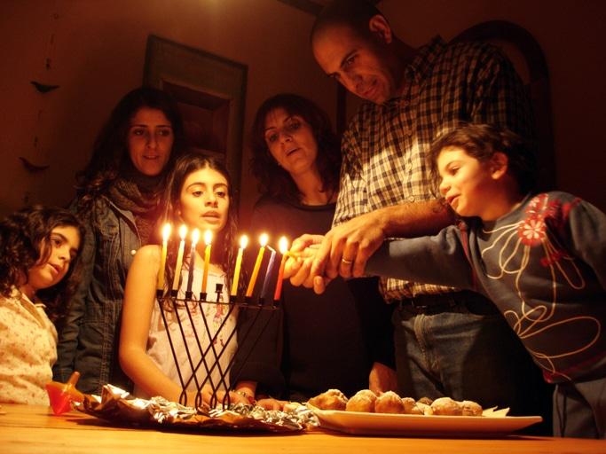 Joodse feestdag Chanoeka in Israël