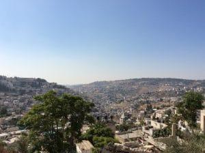 olijgberg uitzicht jeruzalem