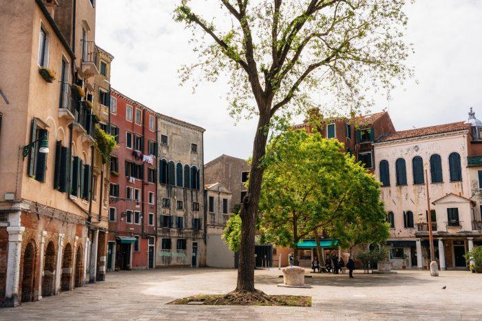 Joods erfgoed in Venetië in juli