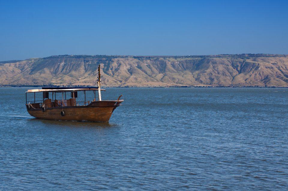 Bezienswaardigheden in Israël: Meer van Galilea